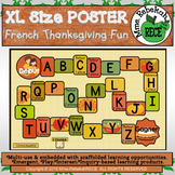Fall Activity French Alphabet Games Poster for Circle Time