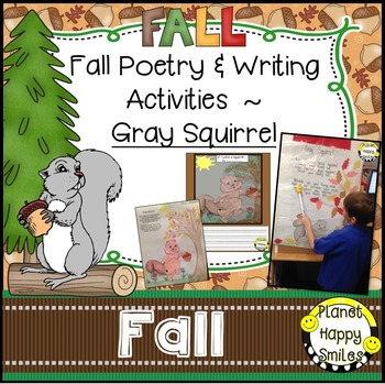 Fall Activity ~ Gray Squirrel Poetry and Writing Activities