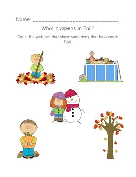 Fall Activity Pack