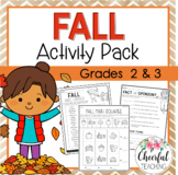 No Prep Fall Activity Pack