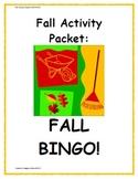 Fall Activity Pack - Fall BINGO!
