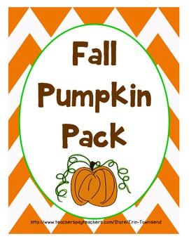 Fall Activity Pack {Roasted Pumpkin Seeds}