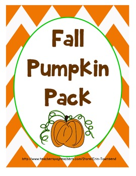 Fall Activity Pack {Roasted Pumpkin Seeds}