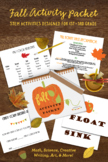 Fall Activity Packet: STEM Activities for 1st-3rd Grade
