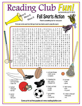 Bundle: Fall Two-Page Activity Set and Fall Puzzles