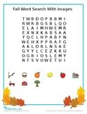 Fall Activity Sheets