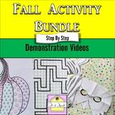 Fall Activity Video Bundle