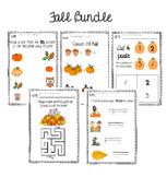 Fall Activity & Worksheet Bundle