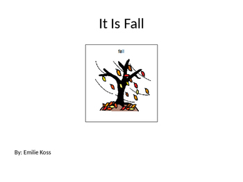 Fall Adapted Book