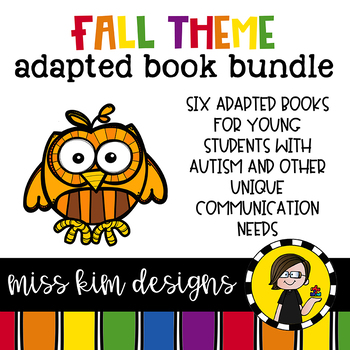 Fall Adapted Book Bundle: 2 Fall Adapted Books for Special Education
