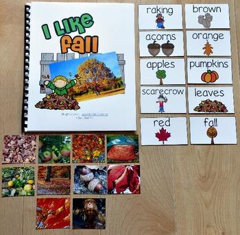 "Fall Adapted Book--""I Like Fall"" (w/Real Photos)"