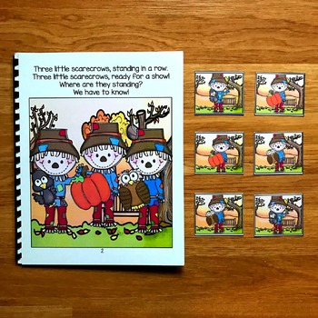 Fall Adapted Book:  Three Little Scarecrows