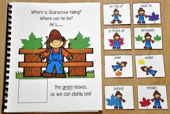 "Fall Adapted Book--""Where is Scarecrow Hiding?"""