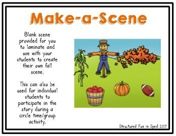 Fall Adapted Book and Make-a-Scene