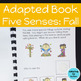 Fall Adapted Books for Special Education and Autism BUNDLE