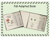 Fall Adapted Counting Book