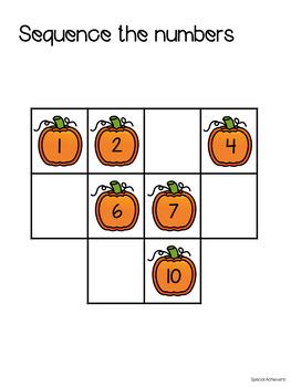 Fall Math Binder