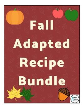 Fall Adapted Recipe Bundle