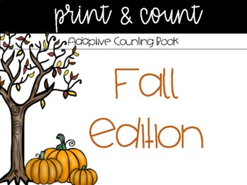 Fall {Adaptive} Counting Book