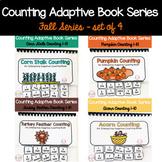 Fall Adaptive Counting Book BUNDLE