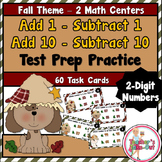 Fall Add 1 Subtract 1 Add 10 Subtract 10 using 2 Digit Numbers