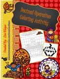 Autumn All Operation Decimal Activity