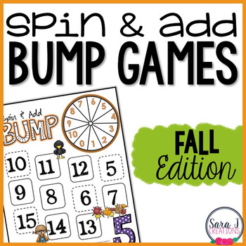 Addition Fact Fluency Games - Fall (FREEBIE)