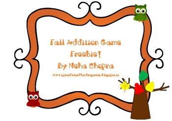 Fall Addition Game