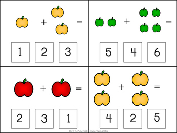 Fall Task Cards: Addition Sums to 10