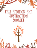 Fall Addition and Subtraction Booklet