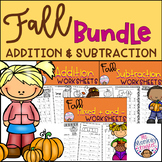 Fall Addition and Subtraction