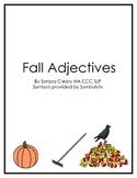Fall Adjectives