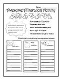 Fall Alliteration Worksheet