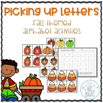 Fall Alphabet Card Activities: Letter Recognition & Handwriting