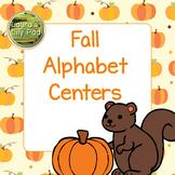 Fall Alphabet Centers