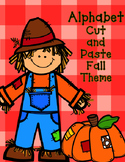 Fall Alphabet Cut and Paste: Initial Sound Activities for Kindergarten