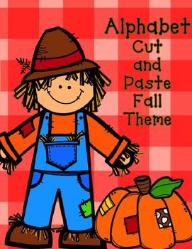 Fall Alphabet Cut and Paste: Initial Sound Activities for
