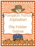 Fall Alphabet File Folder Game