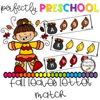 Fall Leaf Alphabet Letter Match
