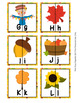 Fall Alphabet Letter Match Puzzles