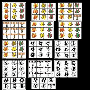 Fall Alphabet Phonics Games (BUNDLE)