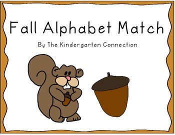 FREEBIE-Fall Alphabet Match