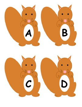 Fall Alphabet Matching Game