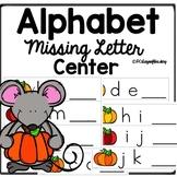 Fall Activities Alphabet Missing Letter Center