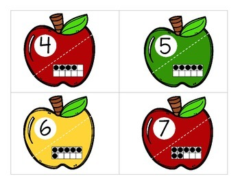 Fall Alphabet & Number Puzzles