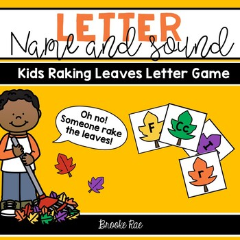 Fall Alphabet Sound and Name Identification Game