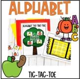 Fall Alphabet Tic-Tac-Toe