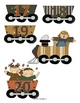 Fall Alphabet and Number Train