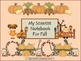 Fall Thematic Unit-Vocabulary and Concepts - ELL Newcomers Too!
