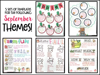 Fall Anchor Charts